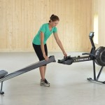 concept2 model d indoor rower storage and portability
