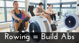build abs with rowing machine
